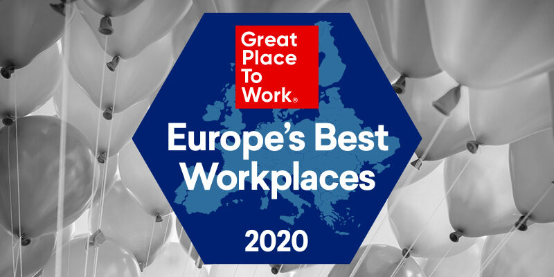LCG nummer 7 Best Workplace van Europa
