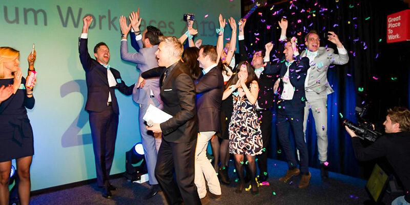 LCG voor vijfde keer nummer 1 in top van 'Best Workplaces'