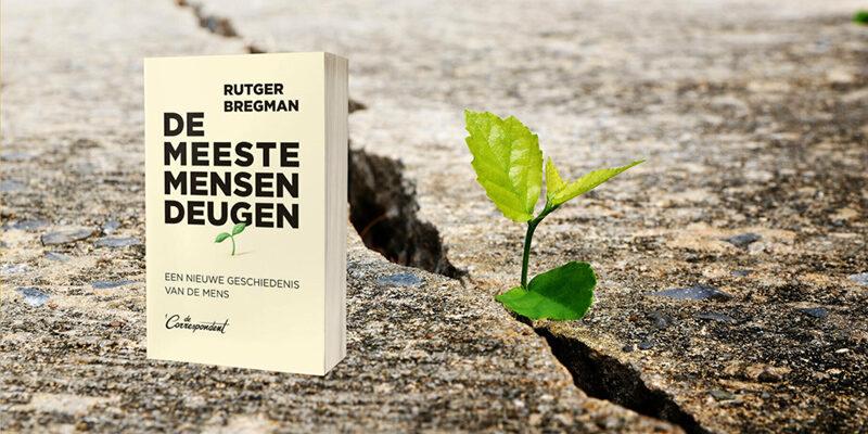 'De meeste mensen deugen' van Rutger Bregman