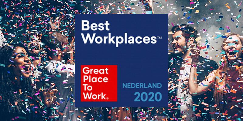 Al zes keer Great Place To Work Nederland